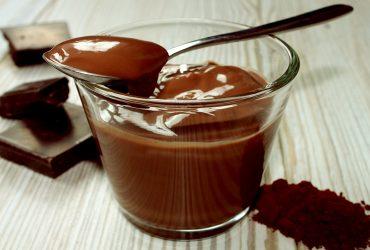 FitReceita – Pudim de chocolate proteico