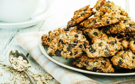 FitReceita: Cookies de Aveia Fit – deliciosos e nutritivos.